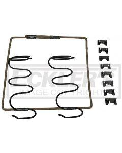 1966-1972 El Camino Seat Side Support Springs, Bench