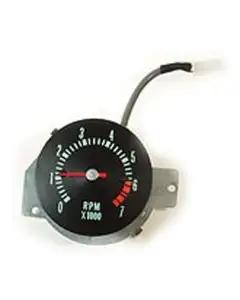 1968 El Camino Tachometer, 7000 Rpm With 6000 Red Line