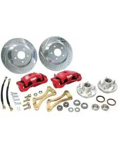 El Camino Disc Big Brake Conversion Kit, Front, For Stock Spindle, 1959-1960