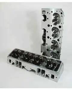 Chevy Truck Cylinder Heads, Small Block, Straight Plug, Aluminum, Patriot Performance, 1955-1972