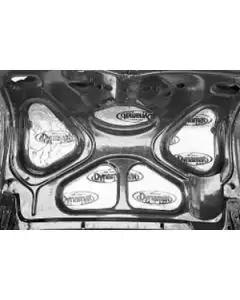 Chevy Trunk Lid Insulation, Dynamat Extreme, 1955-1957