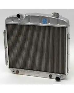 Chevy Aluminum Radiator, Griffin Pro Series, 6-Cylinder Position, 1957