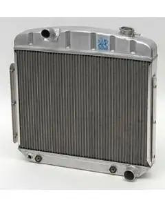 Chevy Radiator, Aluminum, 6-Cylinder Position, Griffin HP Series, 1957