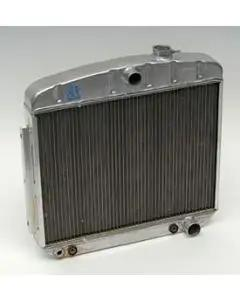 Chevy Aluminum Radiator, Griffin Pro Series, V8 Position, 1955-1957