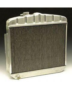 Chevy Radiator, Aluminum, 6-Cylinder Position, Griffin HP Series, 1955-1956