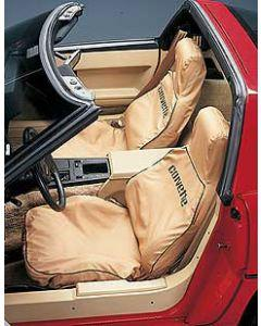 1989-1993 Corvette Covercraft SeatSaver Slipcovers Black