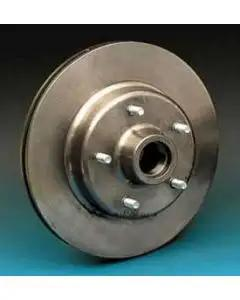 Chevy Disc Brake Rotor, For CCI Dropped Spindles, Front, 1955-1957