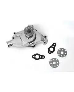 Chevy Water Pump, Small Block, Short, Chrome, 1955-1957