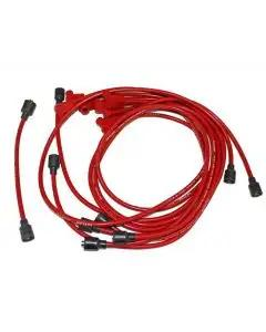 1955-1974 Corvette Spark Plug Wires Small Block Red Spiro-Pro Taylor