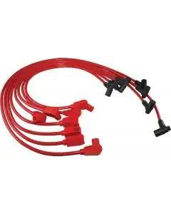 1984 Corvette Spark Plug Wires Red Spiro-Pro Taylor
