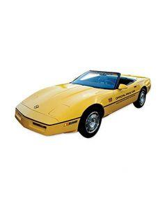 1986 Corvette Gold Official Pace Car Decal Kit With Gold 70th
