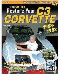 How To Restore Your C3 Corvette Book