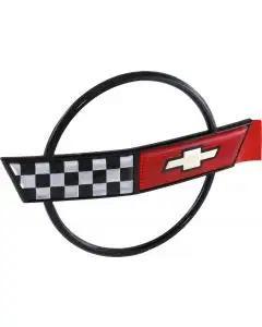 1984-1990 Corvette Hood Emblem Topside