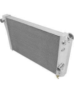 1984-1990 Corvette Champion Cooling 2-Row Economy High Efficiency Aluminum Radiator
