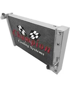 1969-1972 Corvette Champion Cooling 3-Row High Efficiency Aluminum Radiator
