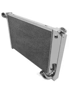 Champion Cooling 3-Row High Efficiency Aluminum Radiator, 350 Small Block| CC1655 Corvette 1969-1972