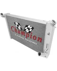 1973-1976 Corvette Champion Cooling 3-Row High Efficiency Aluminum Radiator