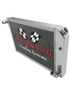 1977-1982 Corvette Champion Cooling 3-Row High Efficiency Aluminum Radiator
