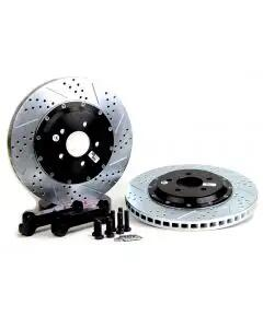 1997-2013 Corvette Rear Baer EradiSpeed Plus II Brake Rotors 2-Piece