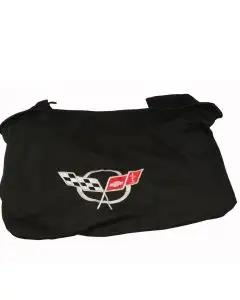 1997-2004 Corvette Rear Cargo Shade With Embroidered C5 Logo
