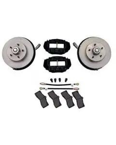 1963-1965 Corvette Van Steel Disc Brake Conversion Kit Front
