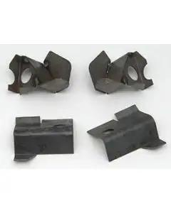 Chevy Lower Cowl To Front Fender Mounting Brackets, 1955