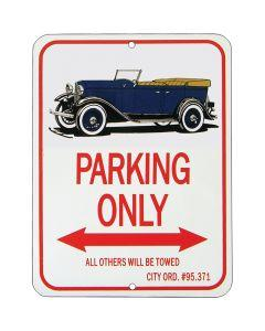 "Phaeton ""Parking Only"" Sign"
