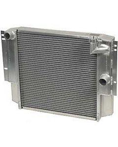 1955-1960 Corvette Be Cool Aluminum Radiator Small Block With Manual Transmission