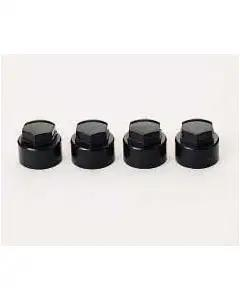 1984-1996 Corvette Wheel Lock Cap Set McGard Black