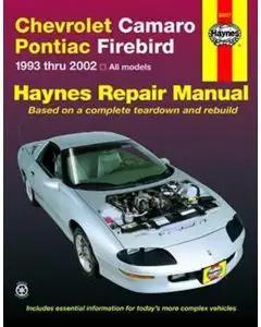 Camaro Repair Manual, Haynes, 1993-2002