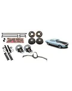 "1967-169 Camaro 4-Link Rear Suspension Kit, With Housing 58"" TW"