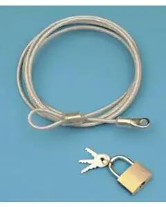 Chevy Car Cover Lock & Cable, 1955-1957