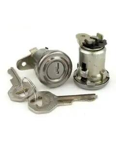 Chevy Door Locks, With Original Style Keys, 1956 Hardtop OrConvertible & 1957 4-Door Hardtop, 1956
