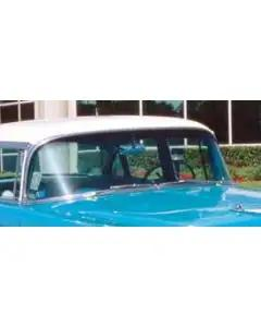 Chevy Windshield, Tinted, Date Coded, Sedan Or Wagon, 1955-1956