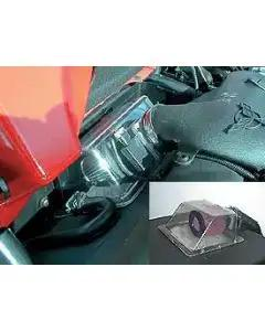 Corvette Cold Air System, BPP Vortex Rammer, With Clear Cover, LS1, 1997-2000
