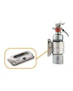 Fire Extinguisher, Flush Mount, Billet Aluminum