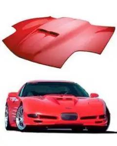 1997-2004 Corvette Fiberglass Hood RKSport Ram Air