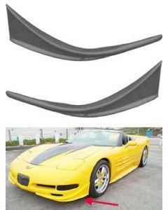 1997-2004 Corvette Front Bumper Canards RKSport Road Tour
