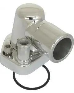 Billet Thermostat Housing with Swivel Neck, Small Block V8 Ford