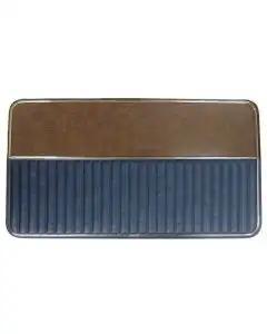Ford Pickup Truck Door Trim Panels - Blue Vinyl - Ford F100& Ford F250 Ranger Or XLT