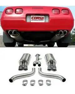 1986-1991 Corvette Corsa Exhaust System L98 Performance