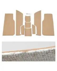 Corvette Floor Insulation, Front, KoolMat(r), 1997-2004