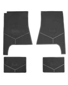 Legendary Auto Interiors Chevelle Floor Mats, Chevelle, Black, 1968-1972