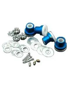 Chevelle & Malibu Upper Control Arm Bushing Kit, Del-A-Lum, Without Outer Stud Kit, 1964-72