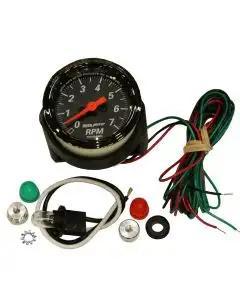 Chevelle Tachometer, 7000 RPM, Designer Black, AutoMeter, 1964-1972