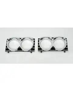 Full Size Chevy Headlight Bezel Set, 1967