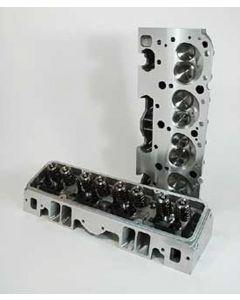 Full Size Chevy Cylinder Heads, Small Block, Angle Plug, Aluminum, Patriot Performance, 1958-1972