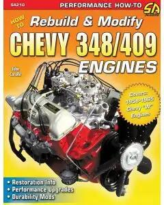 Book, How To Rebuild & Modify Chevy 348/409 Engines