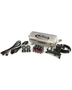 Full Size Chevy Complete Air Compressor System, With 4-Way RidePro Control, Ride Tech,1958-1970