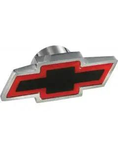 Chevy Air Cleaner Wing Nut, Bowtie Logo, Chrome, Large, 1955-1957